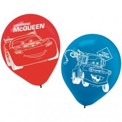 Disney Cars Latex Balloons 6pk