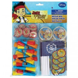 Jake and the Neverland Mega Pirates Favor Pack (For 8 People)