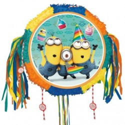 Despicable Me Drum Pull Pop-Out Pinata (Each)