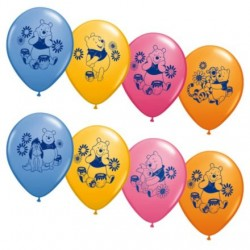 "Pooh & Friends 12"" Latex Balloons (6 Pack)"
