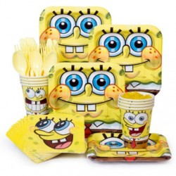 SpongeBob Party Standard Kit Serves 8 Guests
