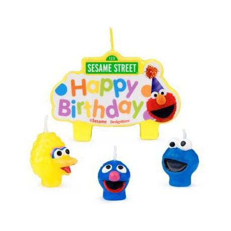 Sesame Street Candle (each)