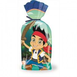 JAKE NEVER LAND PIRATE CELLO TREAT BAG