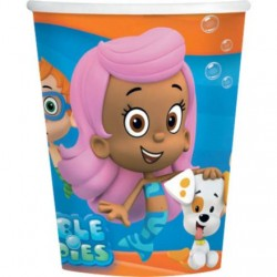 Bubble Guppies 9oz Cups (8 Pack)