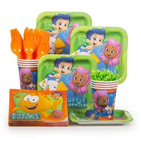 Bubble Guppies Standard Kit Serves 8 Partyland New