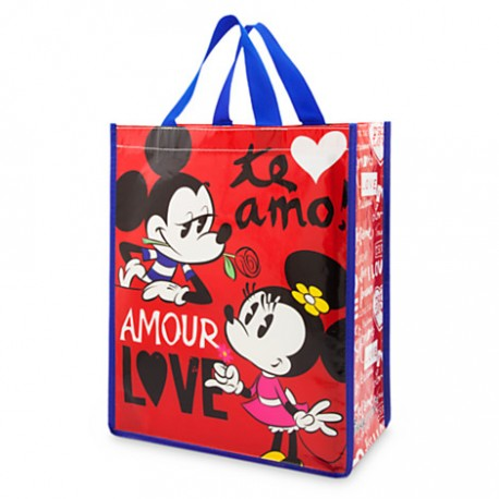 mickey and minnie mouse reusable tote partyland new zealand s