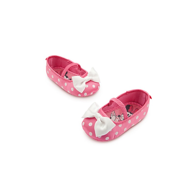 2800006360a83 Minnie Mouse Costume Shoes for Baby - Pink - Partyland - New ...