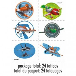 Disney Planes Tattoo Favors (4 Sheets)