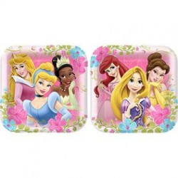 Disney Princess Dinner Plates 9""
