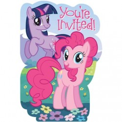 My Little Pony Invitations (8 pack)