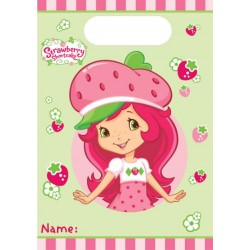 Strawberry Shortcake Loot Favor Bags (8 Pack)