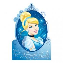 Cinderella Postcard Invitations (8 Pack)