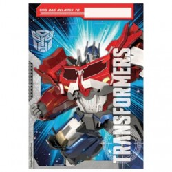 Transformers Loot Bags (8 Pack)