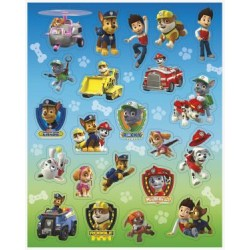 Paw Patrol Sticker Favors (4 Sheets)