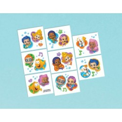 Bubble Guppies Tattoo Favors (16 Pack)