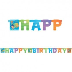 Bubble Guppies Happy Birthday 7.5' Banner (Each)