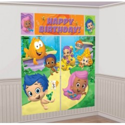Bubble Guppies Wall Decorating Set (Each)