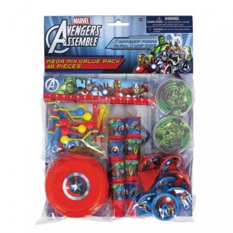 Avengers Mega Mix Favor Pack For 8 Guests