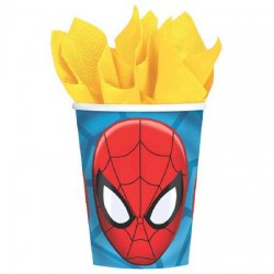 Spiderman 9oz. Cups (New Style)