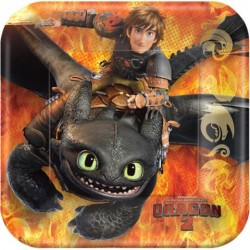 """How to Train Your Dragon 7"""" Cake Plates (New Style)"""