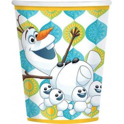 Frozen Fever 9oz Cups (8 Pack)