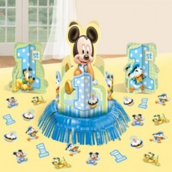 Mickey Mouse 1st Birthday Table Decorating Kit (Each)