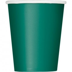 Green 9oz Cups (24 Pack)