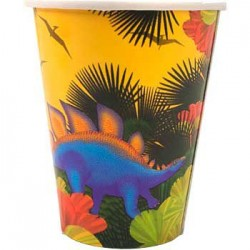 Dinosaur Party Cups (8-pack)
