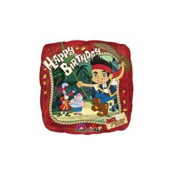 Jake & Neverland Pirates Red Foil Balloon