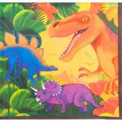 Dinosaur Party Lunch Napkins (16-pack)