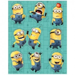 Minions Despicable Me Stickers (4 Sheets)