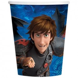 How to Train Your Dragon 9oz Cups (8 Pack)