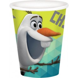 Frozen Olaf 9oz Cups (8 Pack)