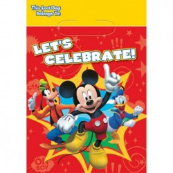 Mickey Mouse Loot Bags