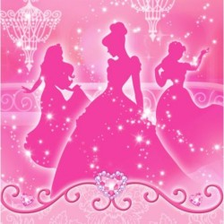 Disney Princess Luncheon Napkins (16 Pack)
