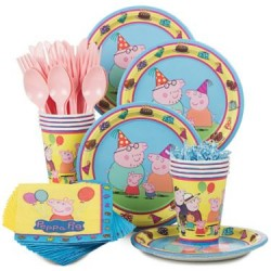 Peppa Pig Standard Kit Serves 8 (New Style)