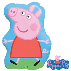 35 IN. PEPPA PIG SHAPE BALLOON