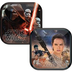 "Star Wars EP Vll 7"" Cake Plate (8 Count)"