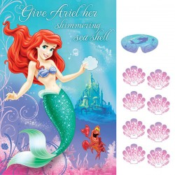 Little Mermaid Ariel Party Game