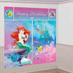 Little Mermaid Ariel Scene Setter Wall Kit