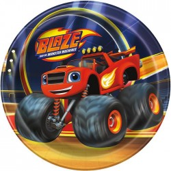 Blaze And The Monster Machines Dessert Plate