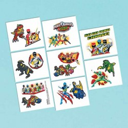 Power Ranger Dino Charge Tattoos
