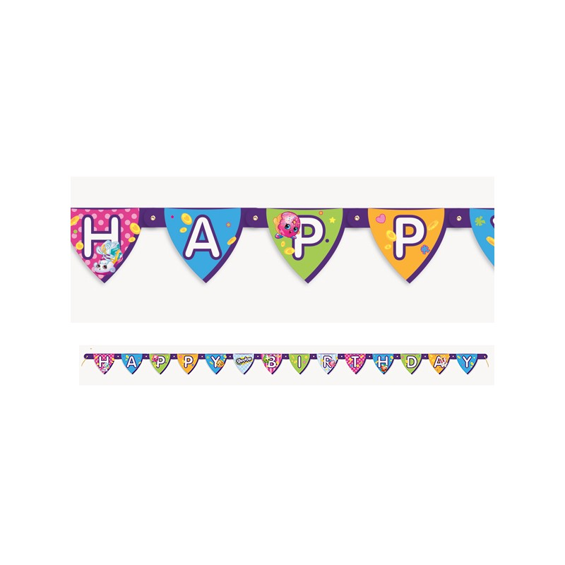 Shopkins Birthday Banner Shopkins Party Banner: New Zealand's Birthday Party