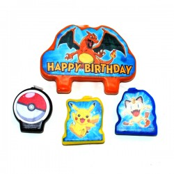 Pokemon Candle Set