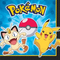 Pokemon Luncheon Napkins