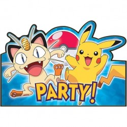 Pokemon Postcard Invitations