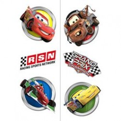 Disney Cars Tattoos Favours 12pk