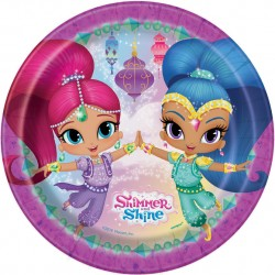 Shimmer and Shine Cake Plates