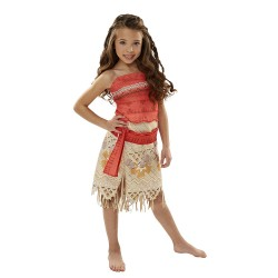 Disney Moana Girls Adventure Costume size 4 -6