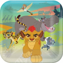 The Lion Guard Luncheon Plates
